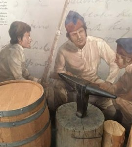 The museum at the Lewis and Clark State Historic Site is well-worth a visit. Among its many displays are ones that shows the types of equipment and supplies taken on the expedition.